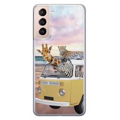 Leuke Telefoonhoesjes Samsung Galaxy S21 siliconen hoesje - Wanderlust