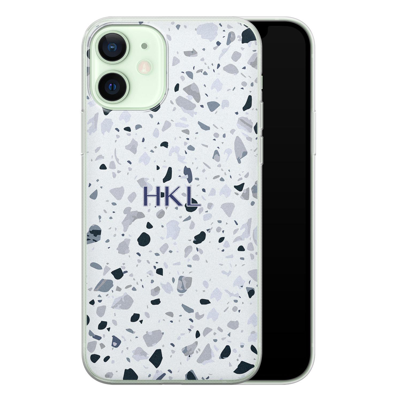 iPhone 12 siliconen hoesje ontwerpen - Terrazzo