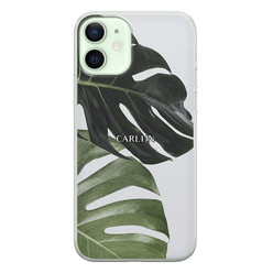 iPhone 12 siliconen hoesje ontwerpen - Monstera