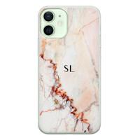 Leuke Telefoonhoesjes iPhone 12 siliconen hoesje ontwerpen - Marmer luxe