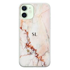 iPhone 12 siliconen hoesje ontwerpen - Marmer luxe