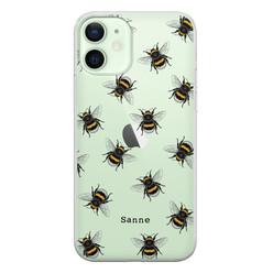 iPhone 12 siliconen hoesje ontwerpen - Happy bees