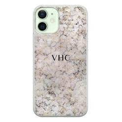Leuke Telefoonhoesjes iPhone 12 siliconen hoesje ontwerpen - Marmer veins