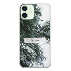 Leuke Telefoonhoesjes iPhone 12 siliconen hoesje ontwerpen - Palmbladeren