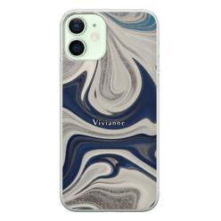 iPhone 12 siliconen hoesje ontwerpen - Marmer sand