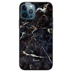 Leuke Telefoonhoesjes iPhone 12 siliconen hoesje ontwerpen - Marmer mix