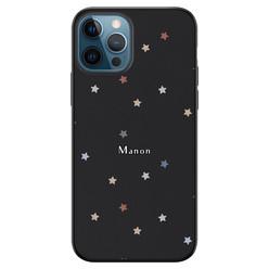 Leuke Telefoonhoesjes iPhone 12 siliconen hoesje ontwerpen - Starry night