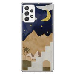 Samsung Galaxy A52 siliconen hoesje - Desert night
