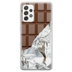 Samsung Galaxy A52 siliconen hoesje - Chocoladereep