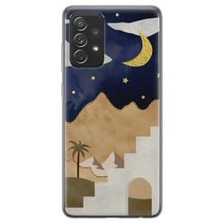 Samsung Galaxy A72 siliconen hoesje - Desert night