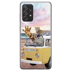 Samsung Galaxy A72 siliconen hoesje - Wanderlust