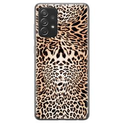 Samsung Galaxy A72 siliconen hoesje - Wild animal
