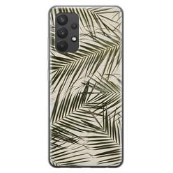 Leuke Telefoonhoesjes Samsung Galaxy A32 4G siliconen hoesje - Leave me alone