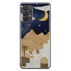 Samsung Galaxy A32 4G siliconen hoesje - Desert night