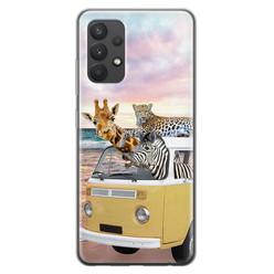 Leuke Telefoonhoesjes Samsung Galaxy A32 4G siliconen hoesje - Wanderlust