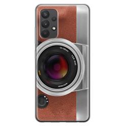 Samsung Galaxy A32 4G siliconen hoesje - Vintage camera
