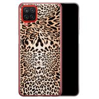Samsung Galaxy A12 siliconen hoesje - Wild animal