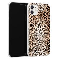 Leuke Telefoonhoesjes iPhone 11 siliconen hoesje - Wild animal