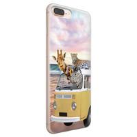 iPhone 8 Plus/7 Plus siliconen hoesje - Wanderlust