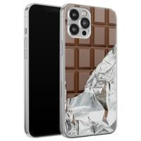 iPhone 12 Pro Max siliconen hoesje - Chocoladereep