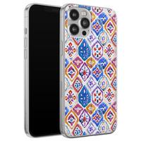 iPhone 12 Pro Max siliconen hoesje - Boho vibe