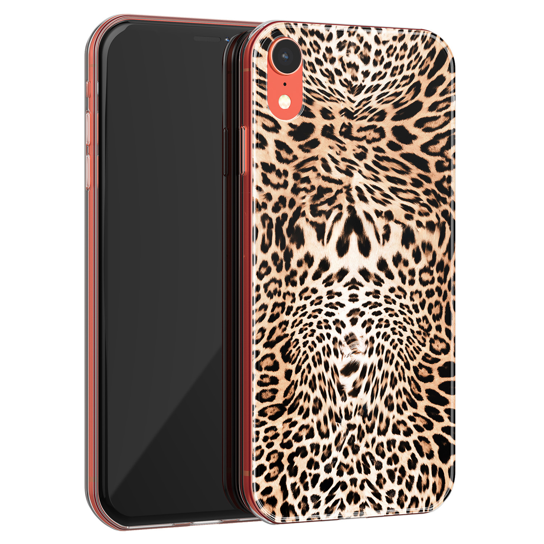 iPhone XR siliconen hoesje - Wild animal