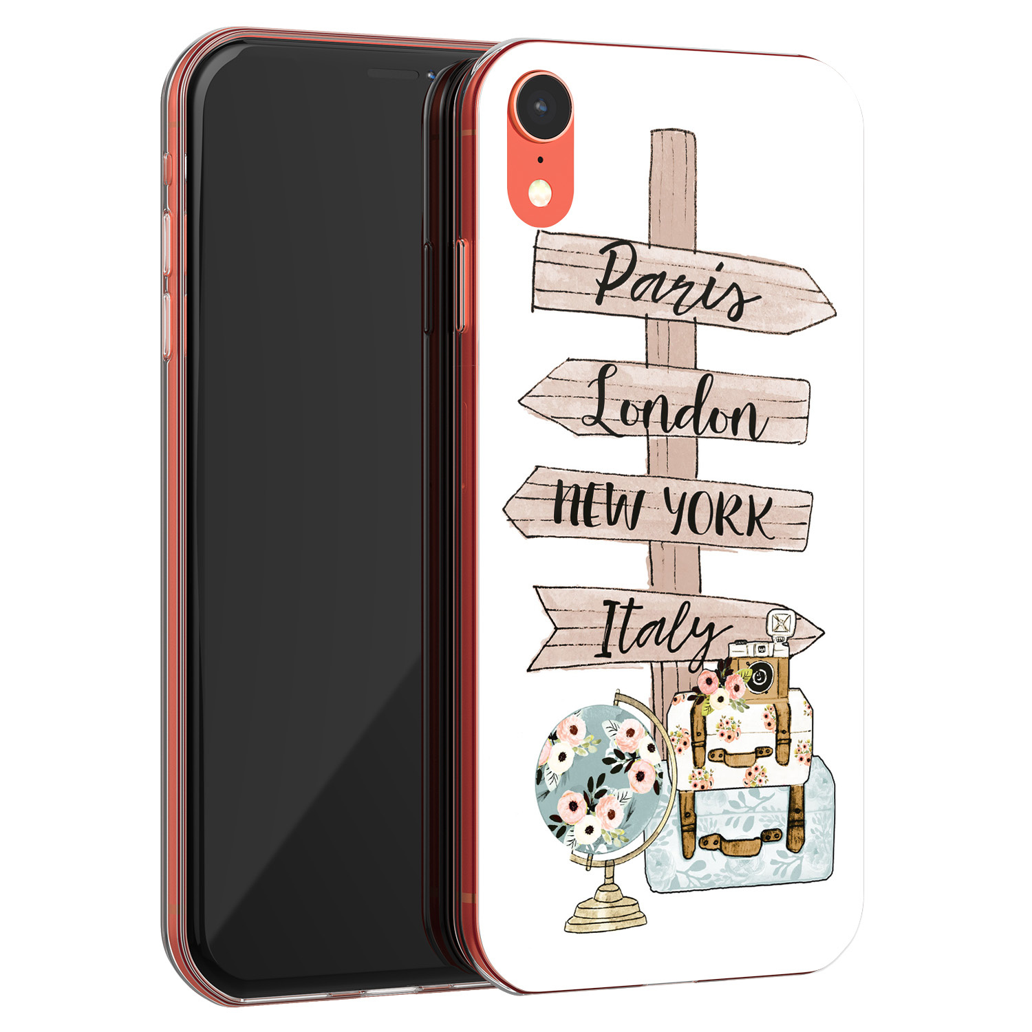 iPhone XR siliconen hoesje - Where to go next