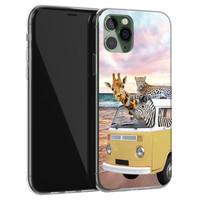 Leuke Telefoonhoesjes iPhone 11 Pro siliconen hoesje - Wanderlust