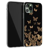 Leuke Telefoonhoesjes iPhone 11 Pro siliconen hoesje - Vlinders