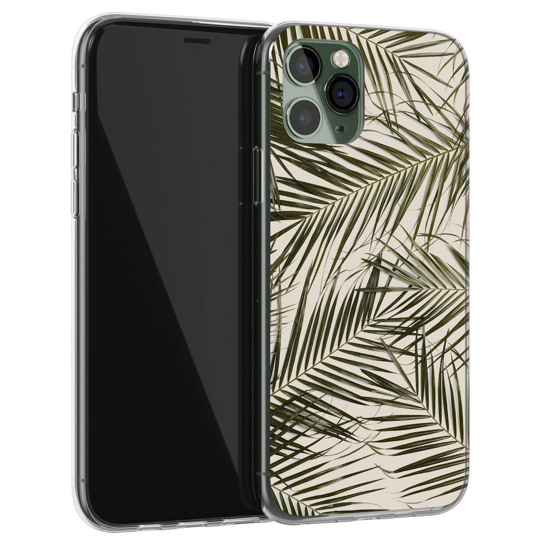 iPhone 11 Pro Max siliconen hoesje - Leave me alone