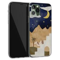 iPhone 11 Pro Max siliconen hoesje - Desert night