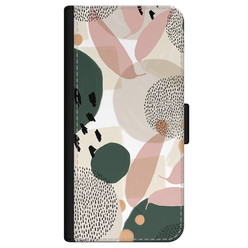 iPhone 12 bookcase leer - Abstract print