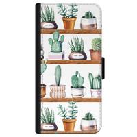 iPhone 12 bookcase leer - Cactus