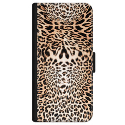 iPhone 12 bookcase leer - Wild animal