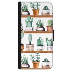 iPhone 11 bookcase leer - Cactus