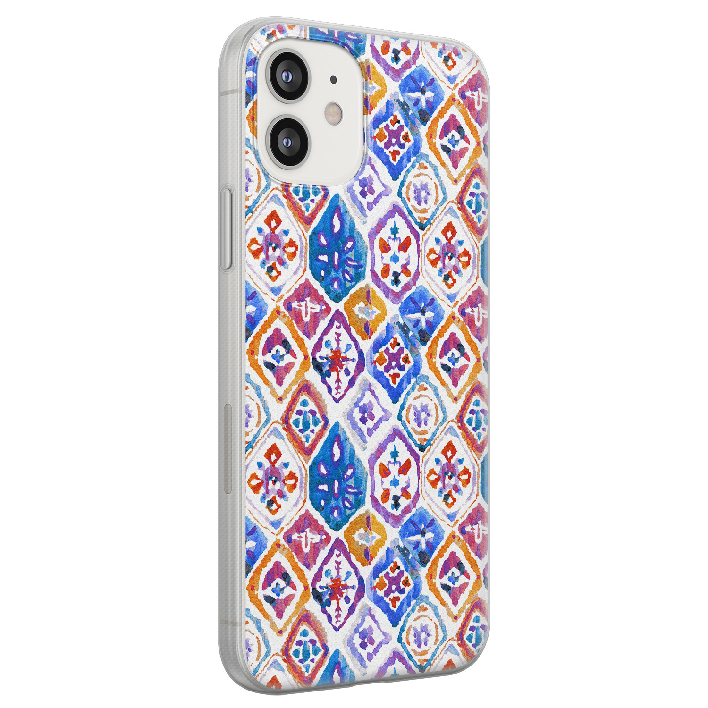 iPhone 12 siliconen hoesje - Boho vibe