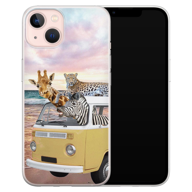Leuke Telefoonhoesjes iPhone 13 siliconen hoesje - Wanderlust