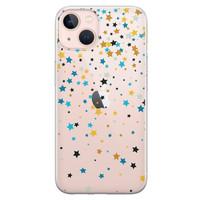 Leuke Telefoonhoesjes iPhone 13 siliconen hoesje - Sterretjes