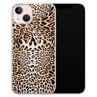 Leuke Telefoonhoesjes iPhone 13 siliconen hoesje - Wild animal