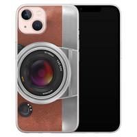 Leuke Telefoonhoesjes iPhone 13 siliconen hoesje - Vintage camera