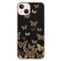 Leuke Telefoonhoesjes iPhone 13 siliconen hoesje - Vlinders