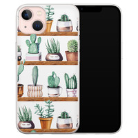 Leuke Telefoonhoesjes iPhone 13 siliconen hoesje - Cactus