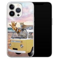 Leuke Telefoonhoesjes iPhone 13 Pro siliconen hoesje - Wanderlust