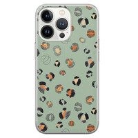 Leuke Telefoonhoesjes iPhone 13 Pro siliconen hoesje - Baby leo