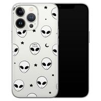Leuke Telefoonhoesjes iPhone 13 Pro siliconen hoesje - Aliens
