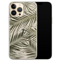 Leuke Telefoonhoesjes iPhone 13 Pro Max siliconen hoesje - Leave me alone