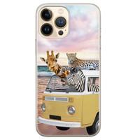 Leuke Telefoonhoesjes iPhone 13 Pro Max siliconen hoesje - Wanderlust