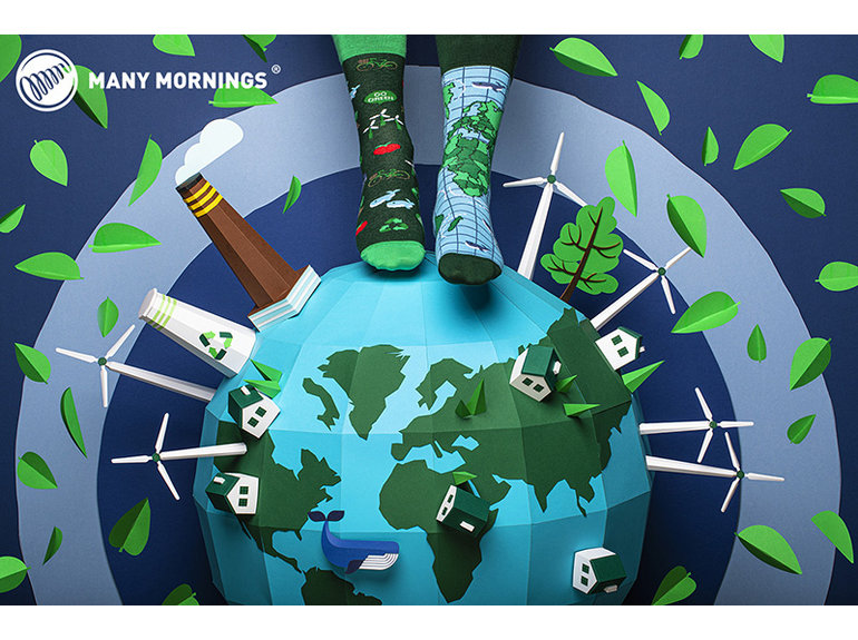 Many Mornings Save the Planet by Many Mornings