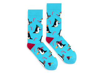 X-mas penguins by Banana Socks