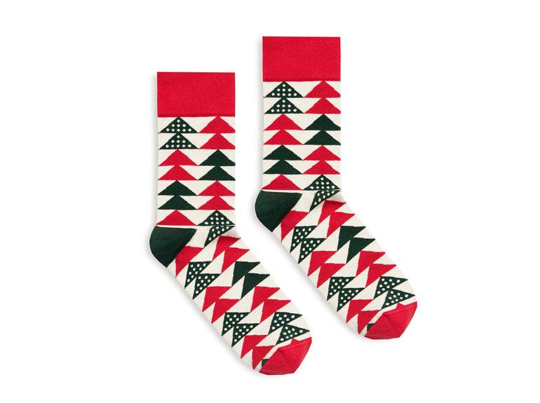 Banana Socks Christmas Tree by Banana Socks